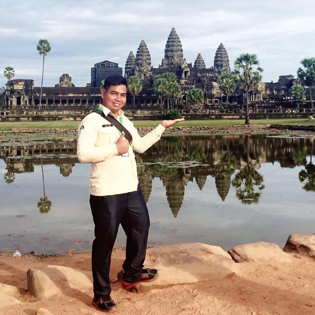 Mr Tola - Gids Cambodja