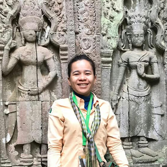 Ms Chan - Gids Cambodja