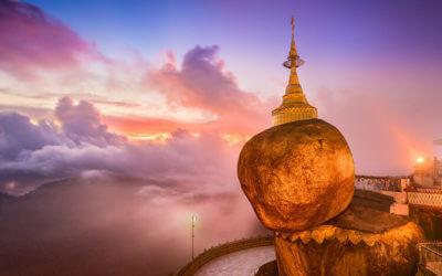 Ontdek de gouden (t)Rots van Myanmar